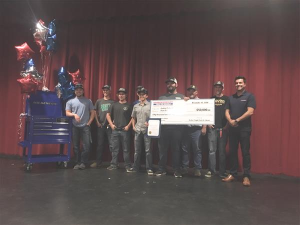 PRHS Teacher Awarded National Prize from Harbor Freight Tools