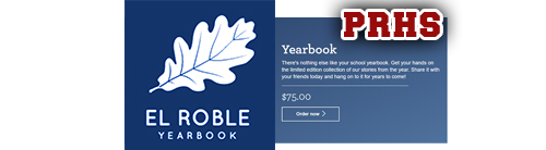 el roble yearbook