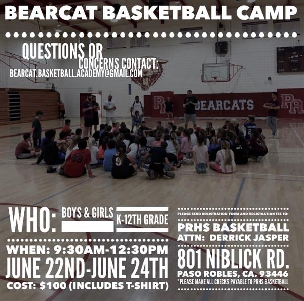 bearcat basketball camp
