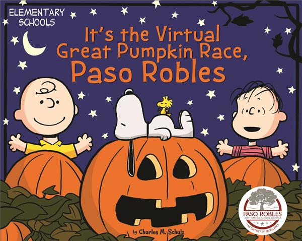 It's The Virtual Great Pumpkin Race, Paso Robles!